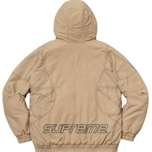 07bcbb4a Supreme Jackets & Coats | Zig Zag Stitch Puffy Jacket | Poshmark